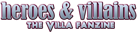 Heroes & Villains, the Aston Villa fanzine