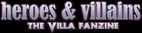 Heroes & Villains, the Aston Villa fanzine